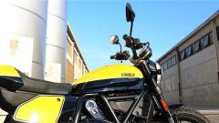 Scrambler Ducati Full Throttle: il serbatoio