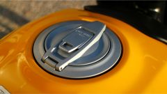 Scrambler Ducati Full Throttle: il tappo del serbatoio