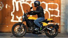 Scrambler Ducati Full Throttle: la seduta è a meno di 80 cm da terra
