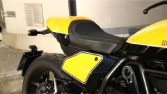 Scrambler Ducati Full Throttle: la sella