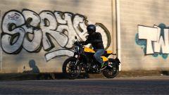 Scrambler Ducati Full Throttle: un momento della prova su strada