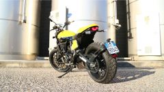 Scrambler Ducati Full Throttle: vista 3/4 posteriore