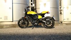 Scrambler Ducati Full Throttle: vista lato sinistro
