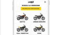 Scrambler Ducati:personalizzazione di Icon,Sixty2,Urban Enduro,Full Throttle,Classic e Flack Track Pro
