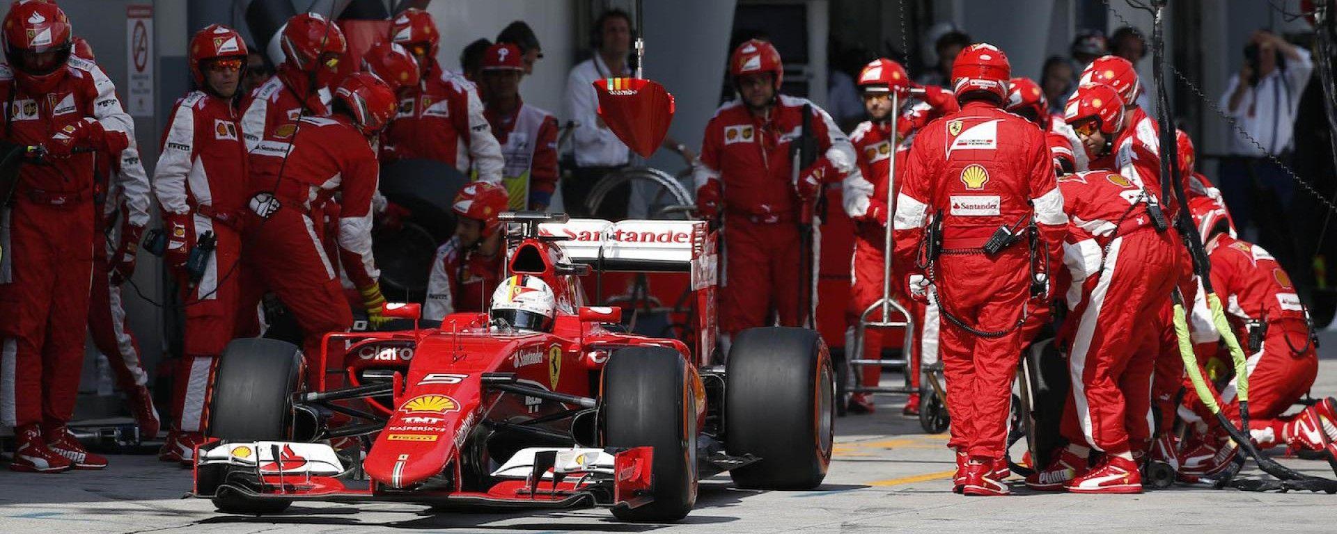Scuderia Ferrari al Gran Premio della Malesia