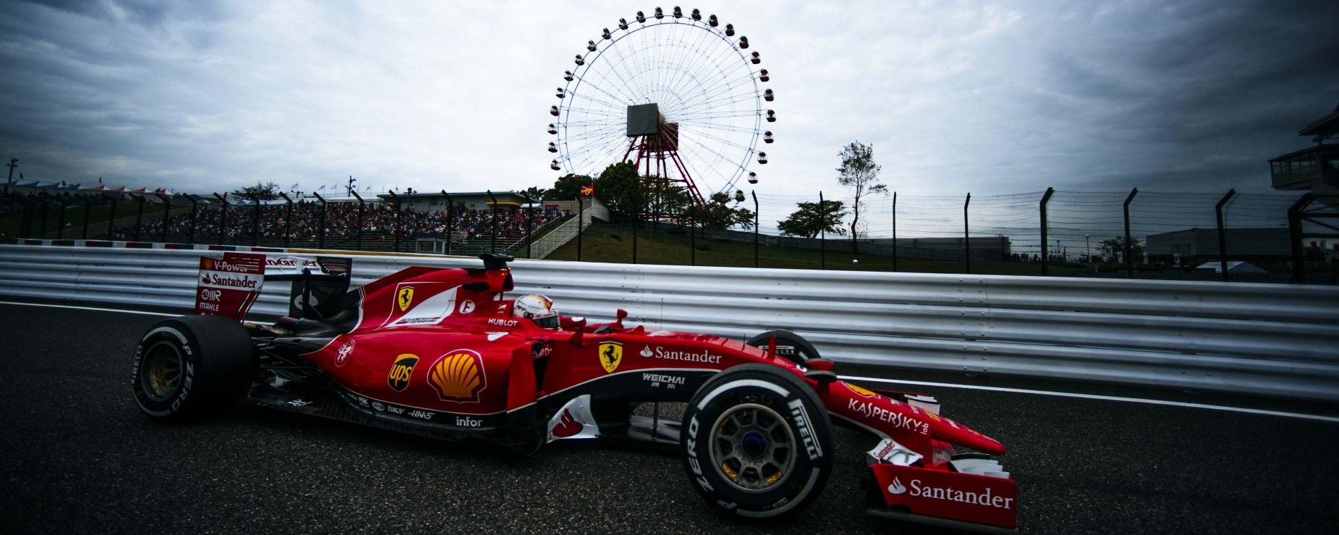 Scuderia Ferrari - Circuito di Suzuka, Giappone