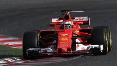 Scuderia Ferrari e Kimi Raikkonen nei test di Barcellona - F1 2017