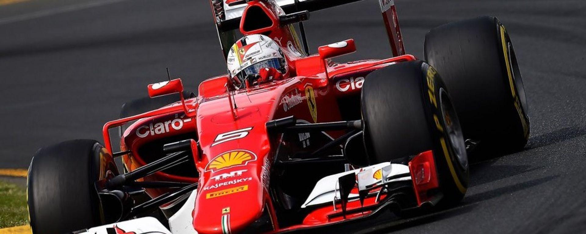 Scuderia Ferrari - la scelta delle gomme Pirelli per il GP di Monza 2017