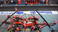 Scuderia Ferrari, pit stop - F1 GP Singapore