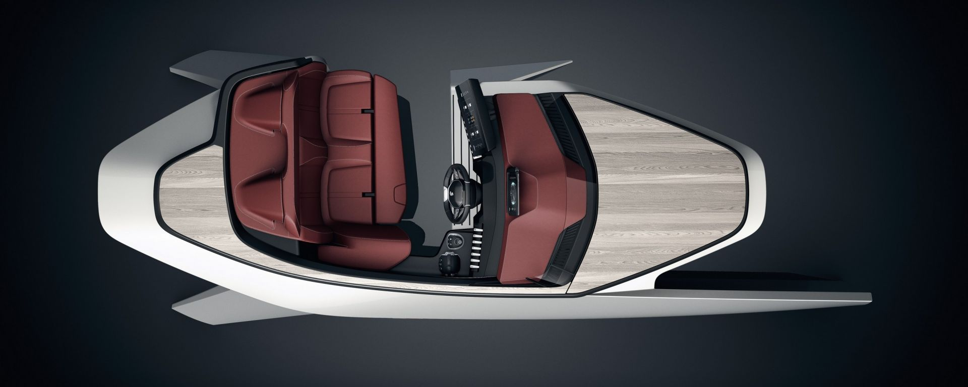 Sea Drive Concept: Peugeot e Beneteau per la barca del domani