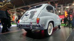 Seat 600 BMS, è tutta originale tranne il colore della carrozzeria e il rivestimento degli interni