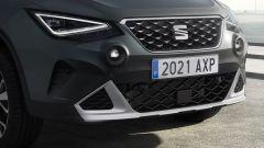 Seat Arona 2021, allestimento Xperience Dark Camouflage H, dettaglio del nuovo frontale