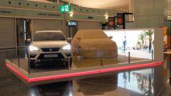 Seat Ateca: un modello in sabbia all'aeroporto di Barcellona - Immagine: 5