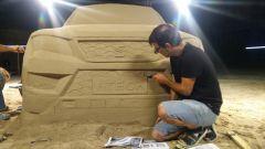 Seat Ateca: un modello in sabbia all'aeroporto di Barcellona - Immagine: 7