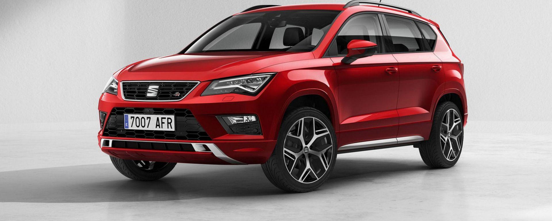 Seat Ateca FR: SUV dal look sportivo