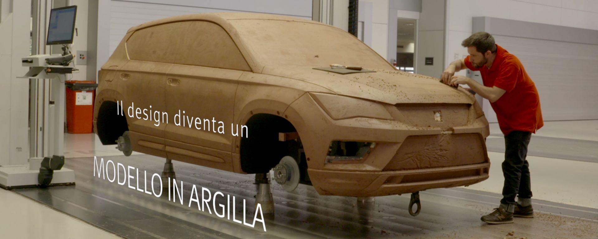 Seat Ateca: per il modello in argilla vengono utilizzate circa 5 tonnellate di materiale