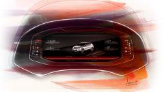 Seat Digital Cockpit: disegno della versione per Seat Arona