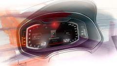 Seat Digital Cockpit: disegno della visualizzazione Classic
