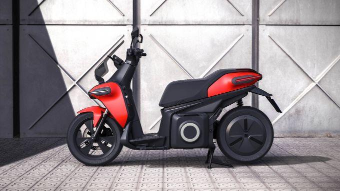 Seat e-Scooter: vista laterale