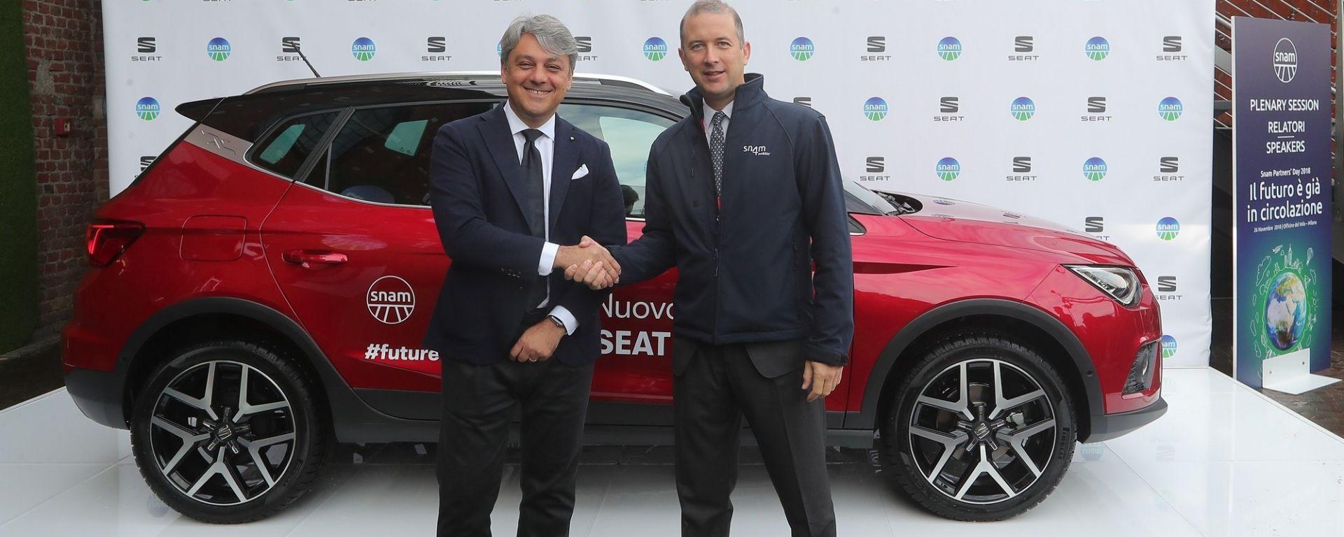 Seat e Snam: siglata una partnership per promuovere l'utilizzo di metano e biometano