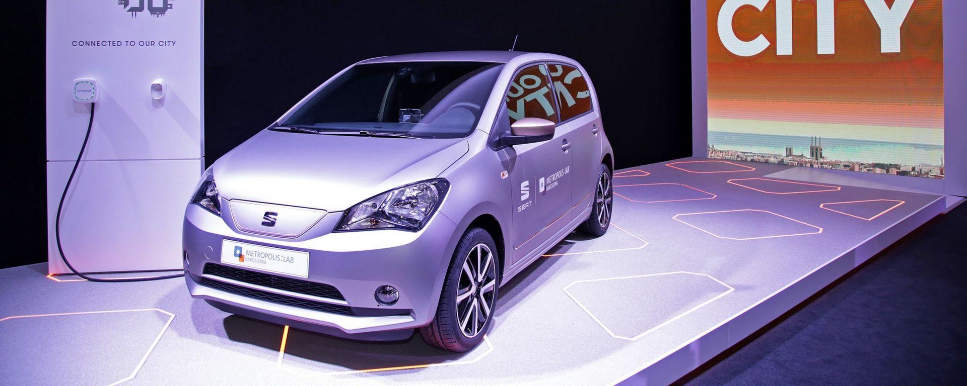 Seat eMii: la piccola spagnola diventa un'auto elettrica