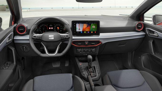 Seat Ibiza 2021: i nuovi interni