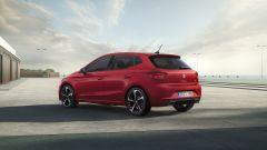 Seat Ibiza 2021: visuale di 3/4 posteriore