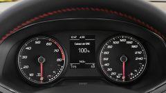 Seat Ibiza FR TGI: dettaglio del cruscotto