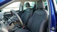 Seat Ibiza FR TGI: i sedili anteriori