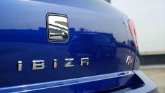 Seat Ibiza FR TGI: il badge posteriore