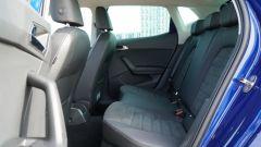 Seat Ibiza FR TGI: il divanetto posteriore