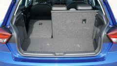 Seat Ibiza FR TGI: vano portabagagli con sedile reclinato