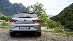 Seat Leon 1.4 Tgi DSG Connect: vista posteriore
