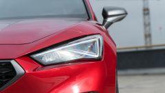 Seat Leon 1.5 eTSI DSG FR, il gruppo ottico anteriore