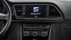 Seat Leon 2017: debutta lo schermo touch da 8 pollici