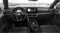 Seat Leon 2020: la plancia dell'allestimento FR