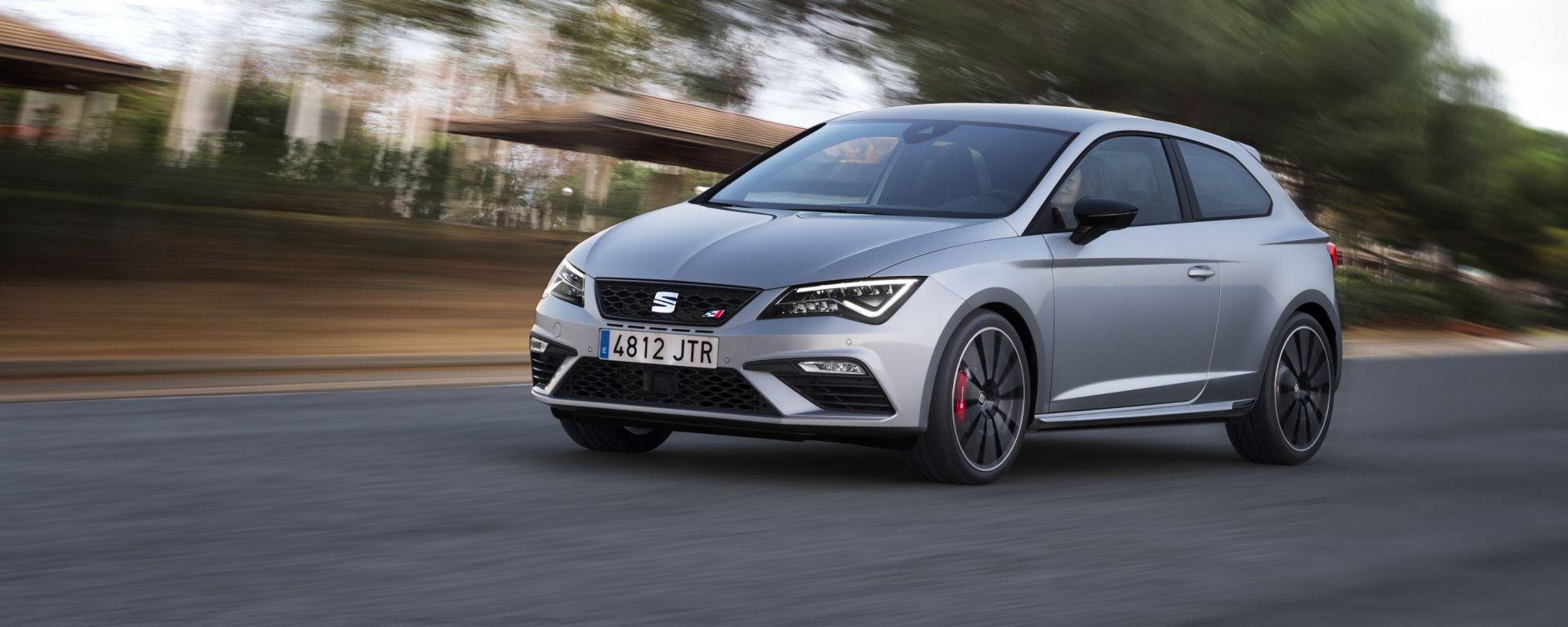 Seat Leon Cupra: con 300 cv è la Seat di serie più potente di sempre