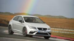 Seat Leon Cupra: su SC e 5 porte è disponibile unicamente la trazione anteriore con differenziale elettronico