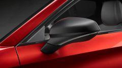 Seat Leon FR 2020: dettaglio dello specchietto retrovisore