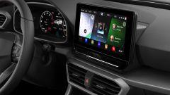 Seat Leon FR 2020: il display da 10