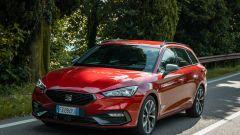 Seat Leon Sportstourer, sexy wagon con a cuore il diesel. Prova video - Immagine: 22