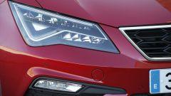 Seat Leon TGI FR 2019: fanaleria anteriore