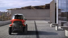 Seat Minimó: vista posteriore