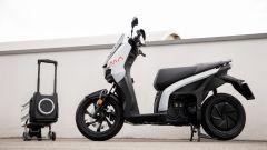 Seat Mò e-Scooter 125 e la batteria estraibile