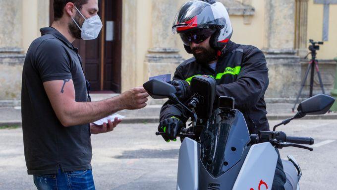 Seat Mò e-Scooter 125: una delle tappe in sella allo scooter nei dintorni di Verona
