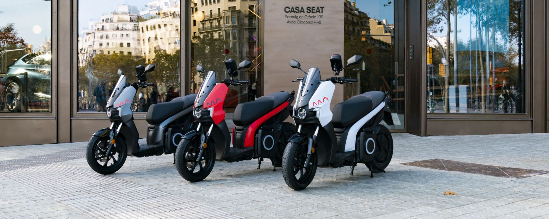 Seat Mó eScooter 125: debutto a MIMO 2021