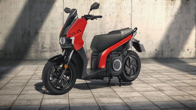 Seat Mo eScooter 125: dettaglio anteriore