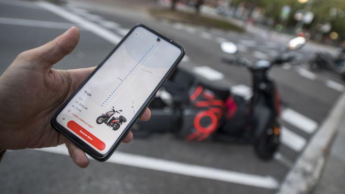 Seat Mó eScooter 125: la app per la gestione dello scooter
