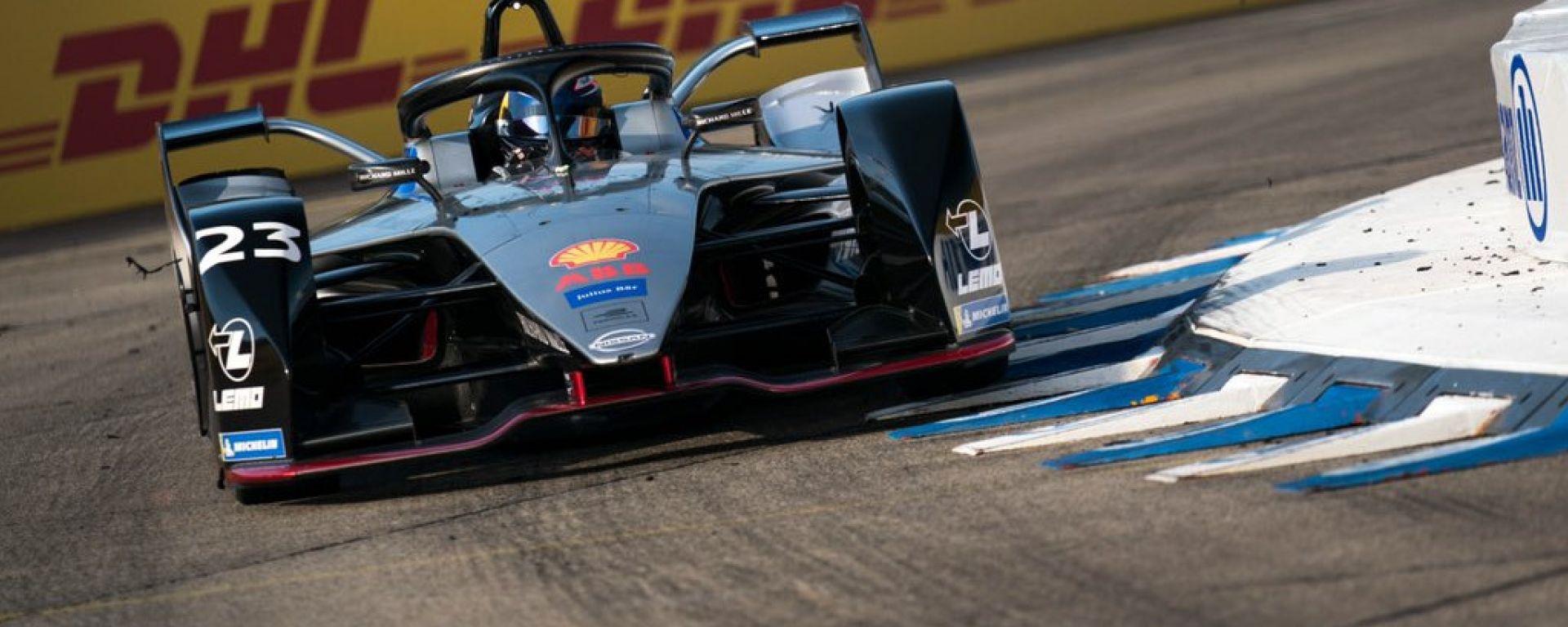 Sebastian Buemi è il poleman dell'ePrix di Berlino