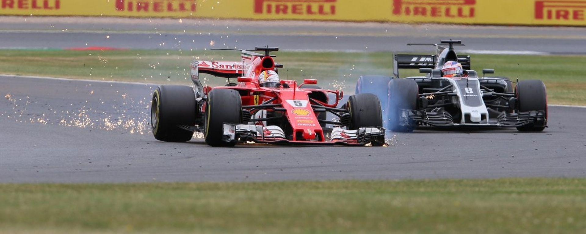 Sebastian Vettel a Silverstone